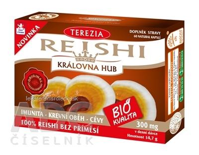 TEREZIA REISHI BIO KVALITA cps 1x60 ks