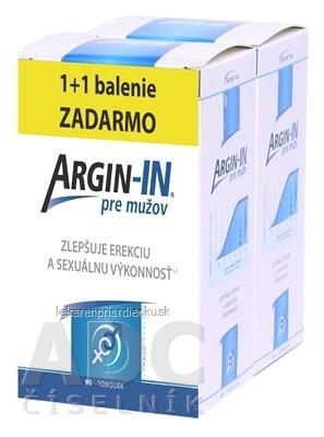ARGIN-IN pre mužov inov.13 cps 45 + 45 zadarmo (90 ks)