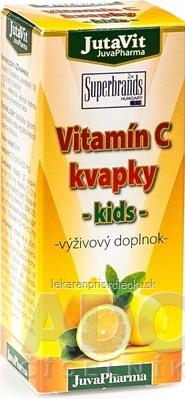 JutaVit Vitamín C kvapky - kids 1x30 ml