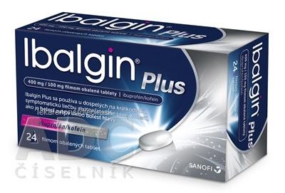 Ibalgin Plus tbl flm (blis.PVC/PVDC/Al) 1x24 ks
