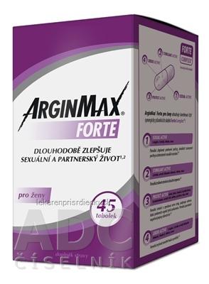ARGINMAX FORTE pre ženy cps 1x45 ks