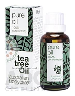 ABC AUSTRALIAN BODYCARE TEA TREE OIL original 100% austrálsky čajovníkový olej 1x30 ml