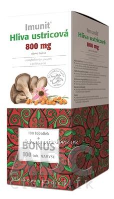 Imunit HLIVA ustricová 800 mg s rakytník. a echin. cps 100+100 naviac (BONUS), 1x200 ks
