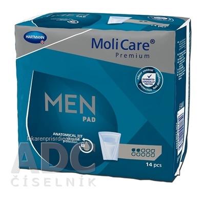 MoliCare Premium MEN PAD 2 kvapky inkontinenčné vložky pre mužov 1x14 ks