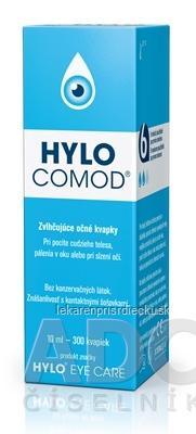 HYLO COMOD zvlhčujúce očné kvapky 1x10 ml