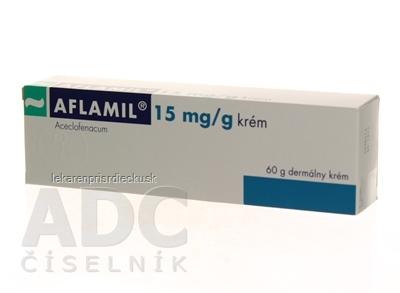 AFLAMIL 15 mg/g krém crm der (tuba Al) 1x60 g