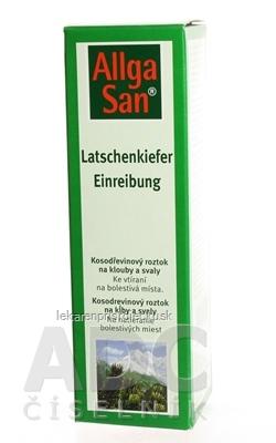 Allga San Kosodrevinový roztok na kĺby a svaly 1x250 ml