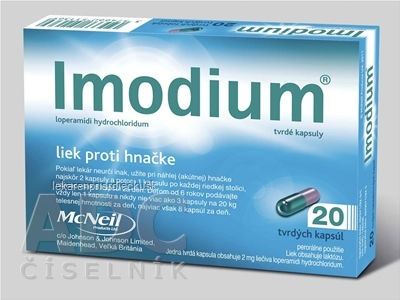 Imodium cps dur 2 mg (blis.PVC/Al) 1x20 ks