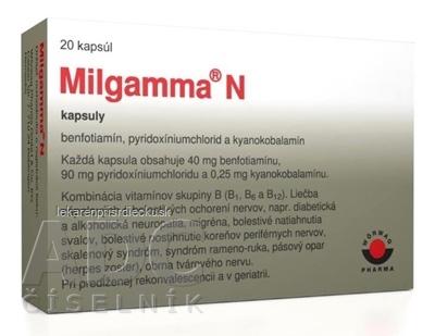 Milgamma N cps 1x20 ks