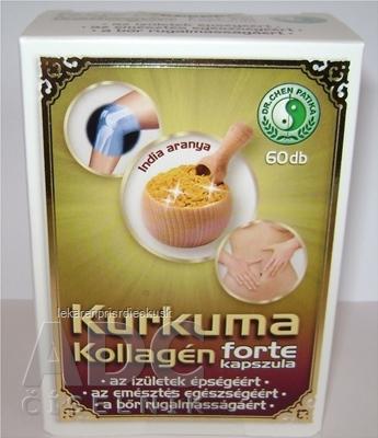 Kurkuma kapsuly s kolagénom - Amazonas 1x60 ks