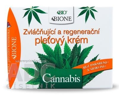 BC BIO Cannabis KRÉM Regeneračný pleťový zvláčňujúci 1x51 ml
