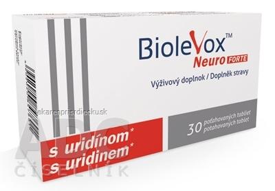 BIOLEVOX Neuro FORTE tbl 1x30 ks