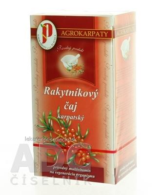 AGROKARPATY RAKYTNÍKOVÝ čaj karpatský prírodný produkt 20x3 g (60 g)