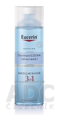 Eucerin DermatoCLEAN HYALURON Micelárna VODA 3v1 citlivá pleť 1x200 ml