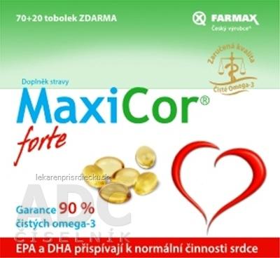FARMAX MaxiCor forte cps 70+20 zadarmo (90ks)