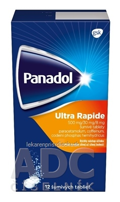 Panadol ULTRA RAPIDE tbl eff (strip lam.) 1x12 ks
