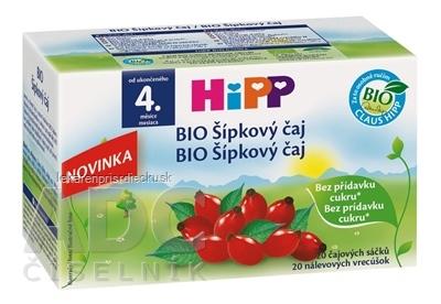 HiPP BIO Šípkový čaj (od ukonč. 4. mesiaca) nálevové vrecúška 20x2 g (40 g)