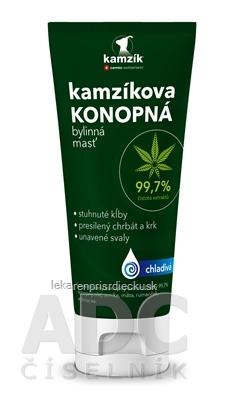 Cemio Kamzíkova konopná masť NEW chladivá (inov.2021) 1x200 ml