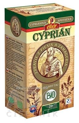 AGROKARPATY CYPRIÁN, CYPRIÁN BIO bylinný čaj, čistý prírodný produkt, 20x2 g (40 g)