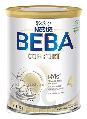 BEBA COMFORT 4 HM-O mliečna výživa pre batoľatá (od ukonč. 18 mesiacov) 1x800 g