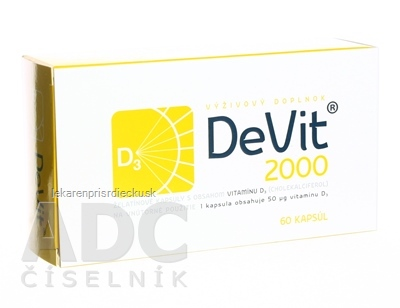 DeVit 2000 cps 1x60 ks