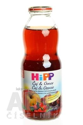 HiPP Čaj&Ovocie, Šípkový čaj a šťava z červ.plodov (od ukonč. 4. mesiaca) 1x500 ml