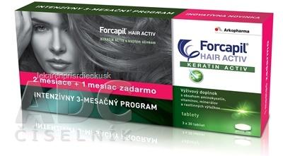 FORCAPIL HAIR ACTIV tbl 3x30 ks (90 ks)