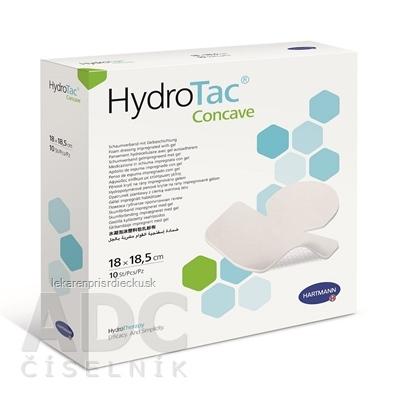 HydroTac concave - krytie na rany penové hydropol. impregnované gélom (18x18,5 cm) 1x10 ks