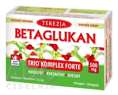 TEREZIA BETAGLUKAN TRIO KOMPLEX FORTE cps 1x30 ks