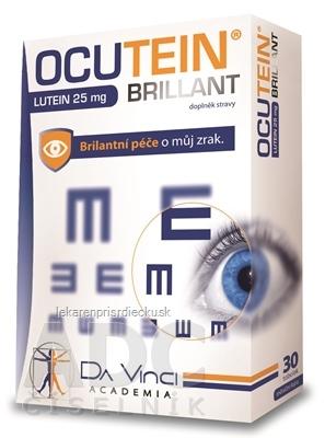 OCUTEIN BRILLANT Luteín 25 mg - DA VINCI cps 1x30 ks